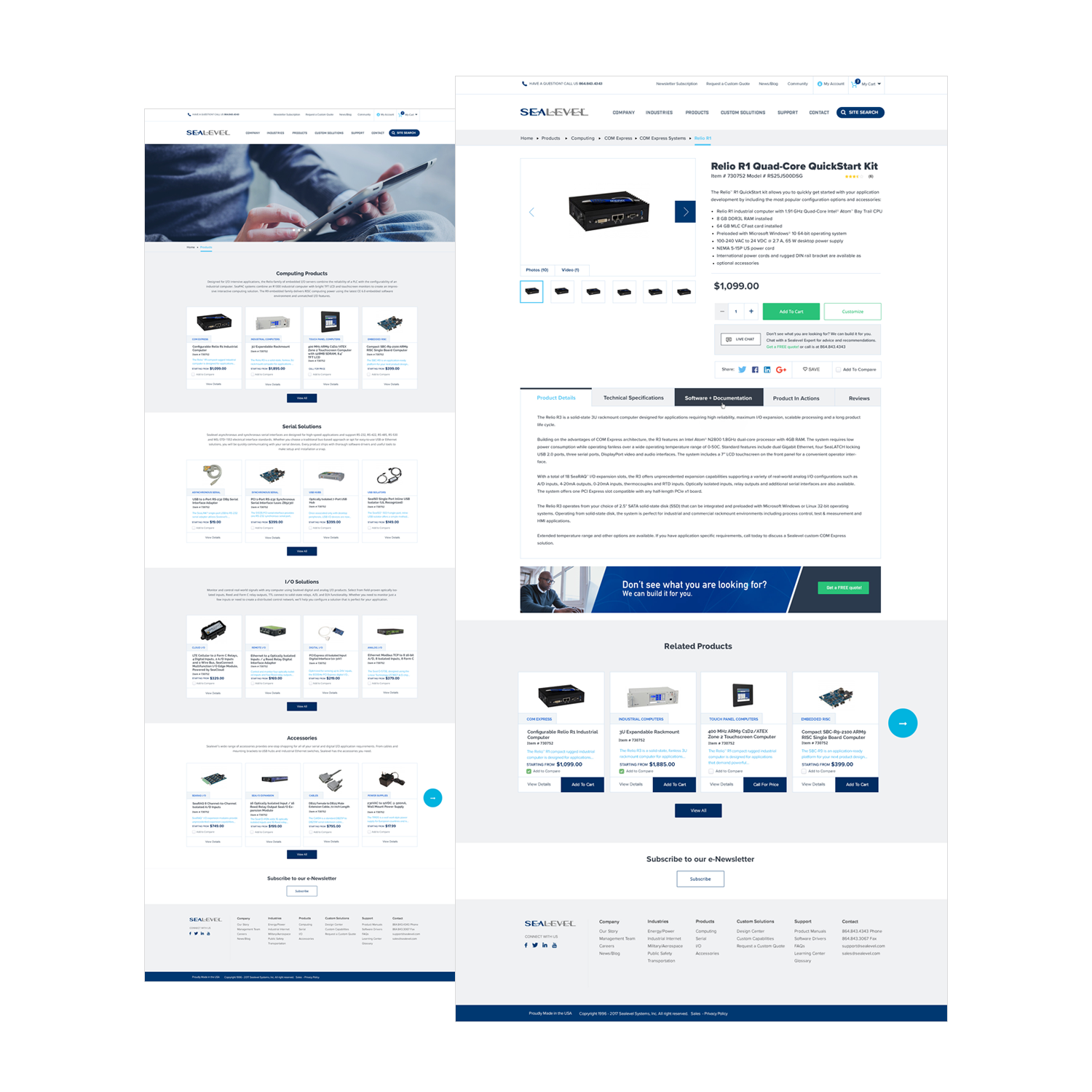 ecommerce screenshots